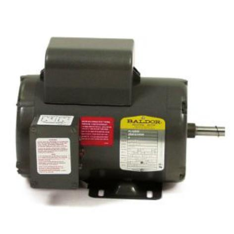 Baldor 10 hp electric motor 1725rpm 1 3 8 shaft 40amp 230 for 10 hp single phase motor