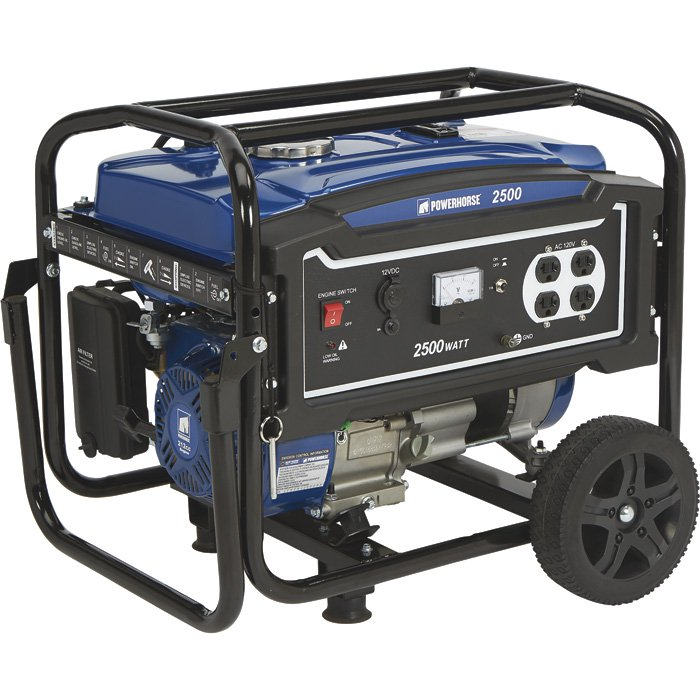 Powerhorse 750137 Portable Generator 2500 Surge Watts, 2000 Rated Watts, EPA Compliant 212cc