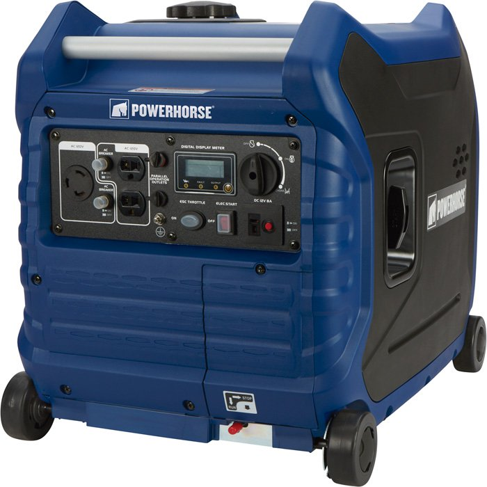 Powerhorse 792220 Inverter Generator — 3500 Surge Watts, 3000 Rated Watts, Electric Start, EPA and CARB Compliant, Model# LC3500i - Free Shipping