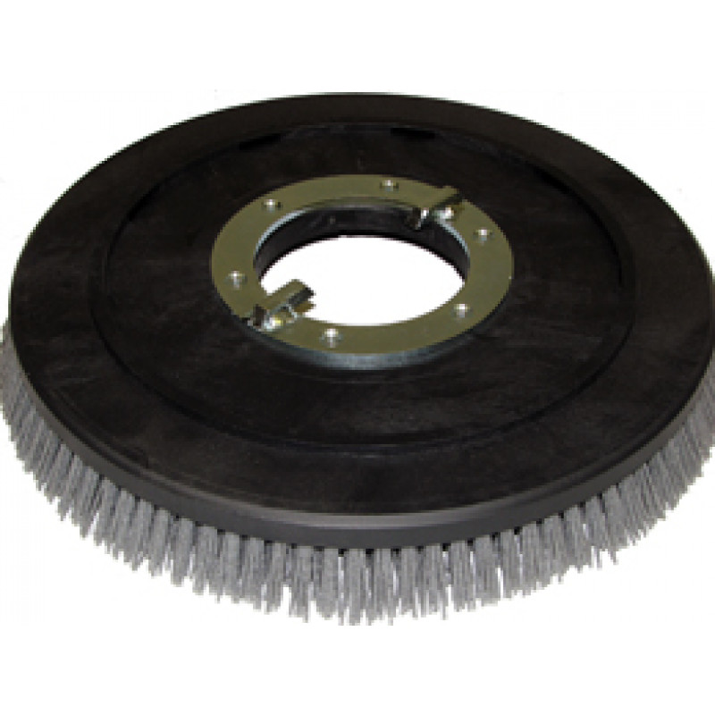 16in Scrub Brush Assembly Supergrit for Nilfisk/Advance 8.805-618.0
