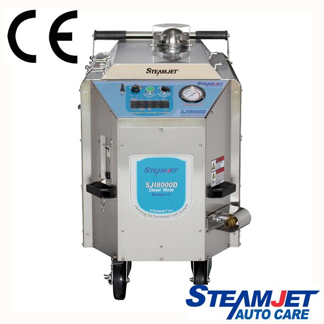 Steamjet 8000D Dual Hose Vapor Auto Detail Machine FREE Shipping
