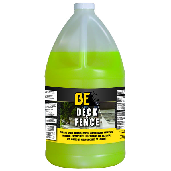 BE Pressure 85.490.057 Deck and Fence Cleaner 5 Gallon Pail (light green)