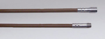 Nikro 3/8 x 48 inch Brush Rods  Fiberglass 860231