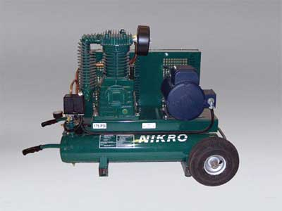 Nikro: 860757 - 5 H.P. 220V 2 Stage, 175 PSI Portable Electric Compressor (Compressor only)