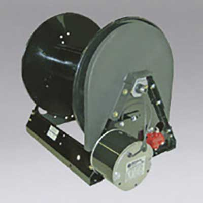 Nikro: 860816 - 12 VDC Motor Rewind Hose Reel 350 ft Air Hose/ 150 ft Garden Hose