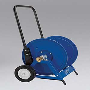 Nikro: 860817 - Heavy Duty Hand Hose Reel w/Cart