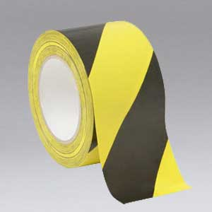 Nikro 860829 Black and Yellow Safety Tape