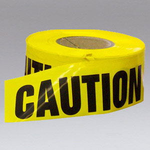 Nikro 861982 Caution Tape 1000 ft X 3 inches Wide