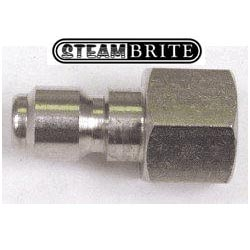 Pressure Washer QD 1/4in Fip X 1/4in Male Nipple Plug Stainless Steel Coupler 87071380