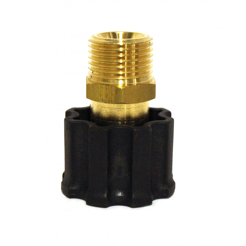 22mm Female Swivel Socket X 1/2in Mip Pressure Washer Coupler 331208PA  8.709-533.0