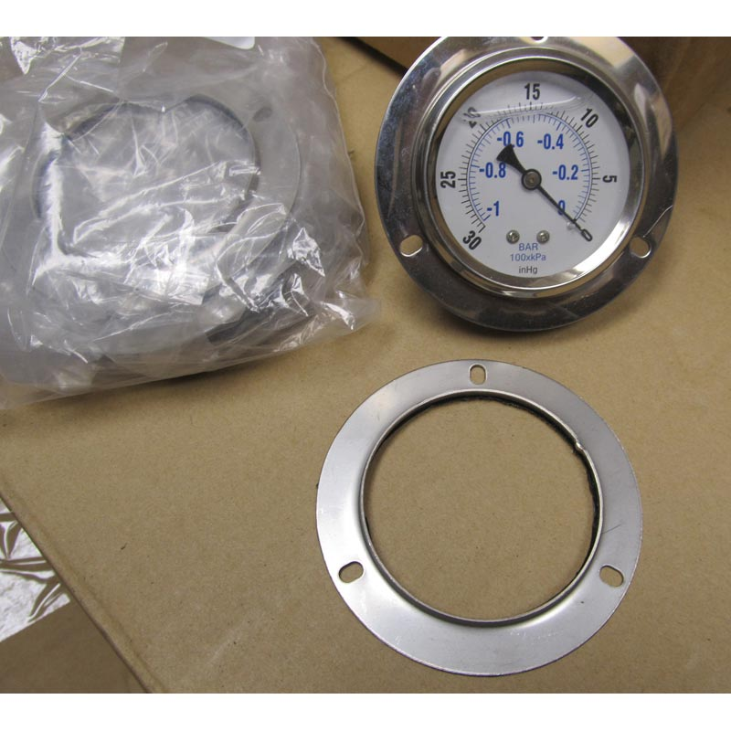 Karcher: Gauge Mounting Ring for Back Mount Gauges (348158) 8.710-228.0 Stainless Steel Legacy Shark