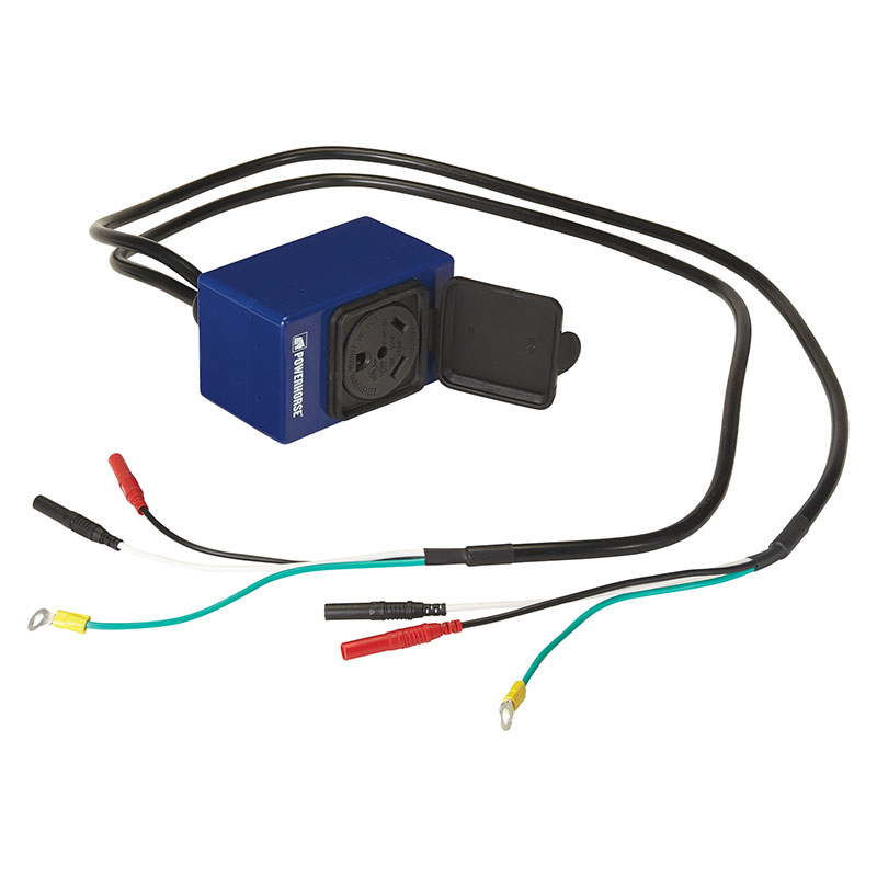 Powerhorse 89778 Parallel Cable Kit — Connects 2000 Watt or 2300 Watt Inverter Generators Model DPC-003