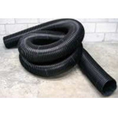 Heat Seal Equipment: 8in Black Knight Hose - per 25 feet