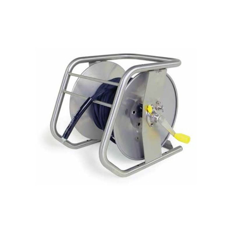 -Karcher Stackable Hose Reel 100 ft X 3/8  9.801-769.0  FREE Shipping 98017690 Stainless Steel