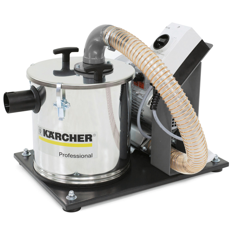 Karcher IVR-B 20/6 3-Phase Stainless Steel Compact Industrial Vacuum Cleaner 9.988-915.0 (460volt) Freight Included