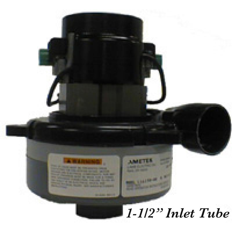 Ametek Lamb 993-2890 Vacuum Motor 36V Tangential discharge 2 Stage w/1.5in Inlet Tube [9.107-722.0] FREE Shipping