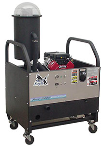 Steel Eagle Fury 2400SE ASE-2808 Pressure Washer Vacuum Recovery System Auto Pump Out 23 Hp Briggs 330 cfm