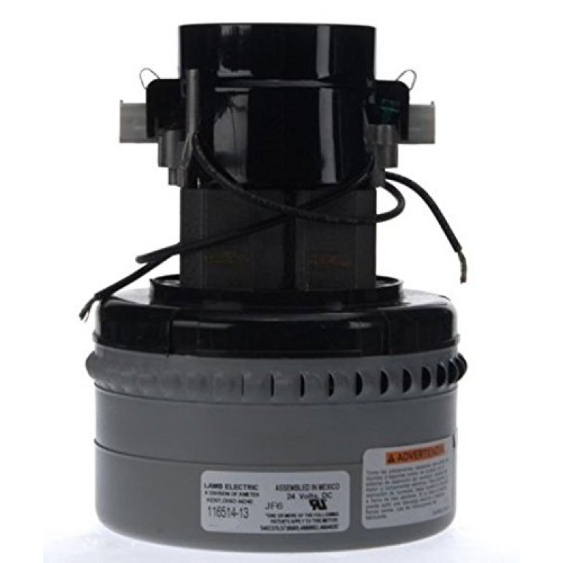 Ametek Lamb 116514-13 Vacuum Motor 24v By-Pass Design 3 Stage 5.7in dia. (8.663-436.0)