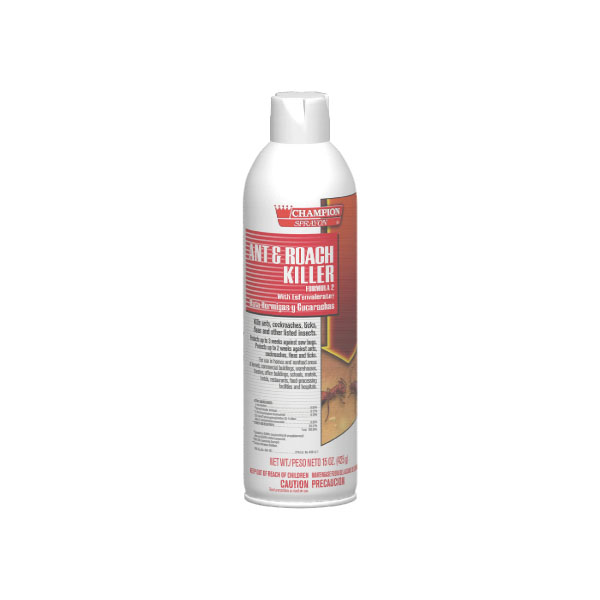 HCR CA5107 Ant & Roach Killer case of 12/15 ounce aerosol cans
