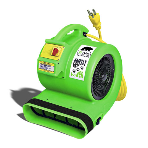B-Air Movers GP1 Carpet Restoration Air Mover 1hp 3sp 230volt international use