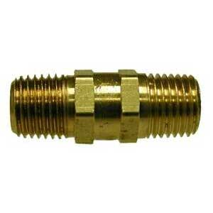 Brass Check Valve 1/4in Mip X 1/4in Mip B108