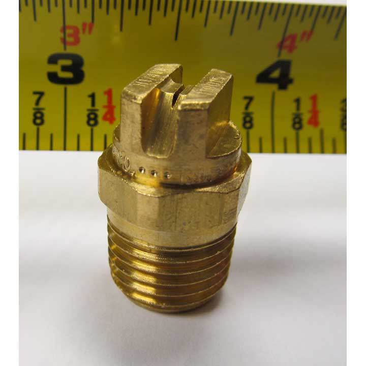 "Spraying Systems VeeJet 1/4"" Mip 110015 Brass B240 9/16"" Hex"