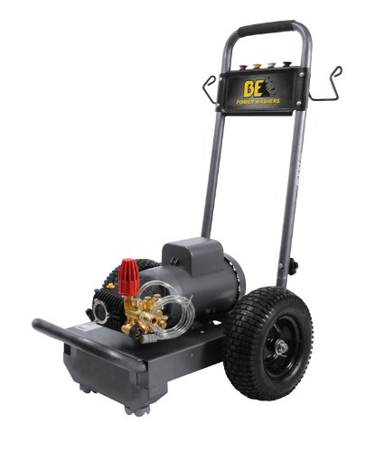 BE Pressure B153EC Electric Powered Pressure Washer 1500 PSI 3 GPM 220V 6-15 Plug