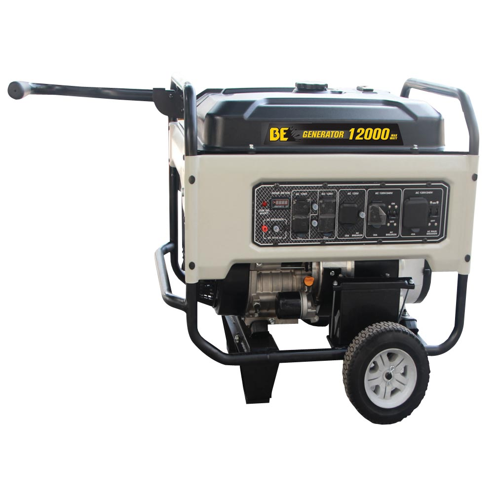 BE Pressure BE-12000ER XStream X12000ER 12000 Watt Generator Electric Start 623cc 20Hp Clean Power [BE12000ER] 14-50R