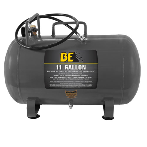 BE Pressure 67.001.100 11 Gallon Portable Air Tank FREE SHIPPING