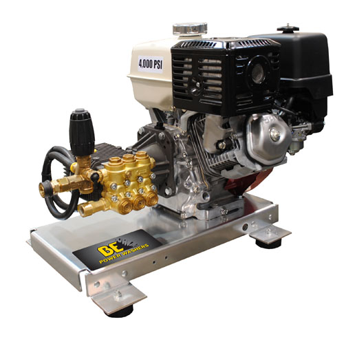 Be Pressure B4013HTACS Truck Mounted Pressure Washer Honda Engine 4000psi 4gpm