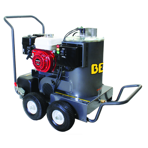 BE Pressure HW2765HAD Hot Water Pressure Washer Honda Gas Engine 2700psi 2.5gpm