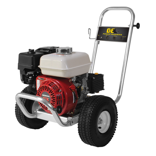 BE Pressure PE-2565HWACOM Aluminum Frame Cold Water Pressure Washer Honda Engine 2500psi 3gpm