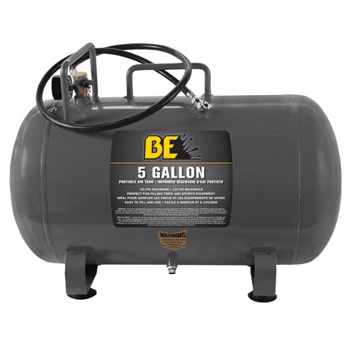 BE Pressure 67.000.500 5 Gallon Portable Air Tank Freight Included
