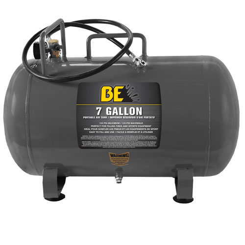 BE Pressure 67.000.700 7 Gallon Portable Air Tank FREE SHIPPING