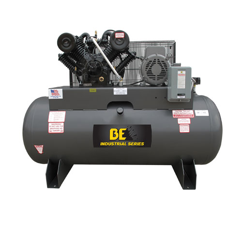 BE Pressure AC10120B3 Belt Drive 120 Gallon Air Compressor 10hp 36cfm 175psi