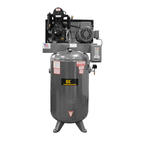 BE Pressure AC1080B3 Belt Drive 80 Gallon Air Compressor 10hp 36cfm 175psi