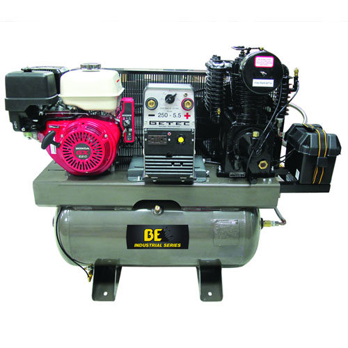 BE Pressure AC1330HB3000W Truckmounted 30 Gallon Compressor  Welder  Generator 3 in 1