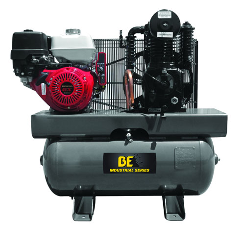 BE Pressure AC1330HEB Truckmounted 30 Gallon Air Compressor 23cfm 175psi