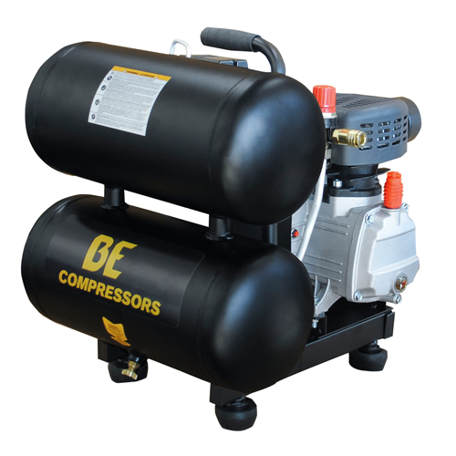 BE Pressure AC205X Direct Drive 5 Gallon Twin Tank Air Compressor 5.3 cfm