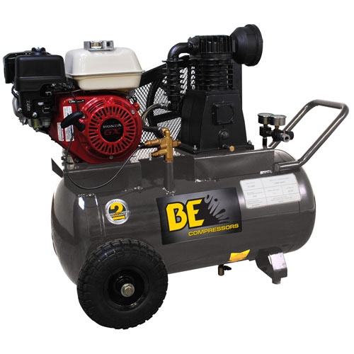BE Pressure AC6520HB 20 Gallon Wheeled Gas Compressor 13.8cfm 90psi