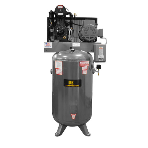 BE Pressure AC7580B  Belt Drive 80 Gallon Air Compressor 7.5hp 24cfm 175psi