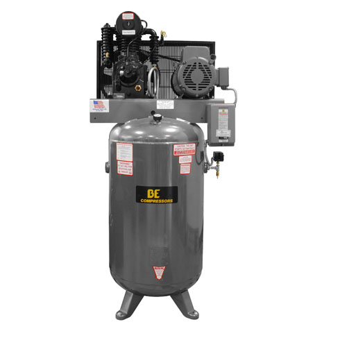 BE Pressure AC7580B3 Belt Drive 80 Gallon Air Compressor 7.5hp 24cfm 175psi