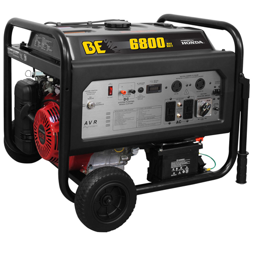 BE Pressure BE6800HER Honda Portable Generator 6800 Max AC Output 5800 Max AC Continuous Output Half Price $99 Shipping