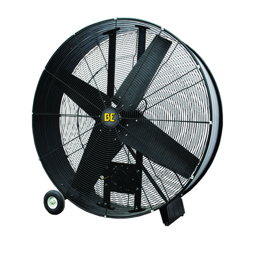 BE Pressure FD42B 42inch Belt Drive Drum Fan 17700 Max CFM 2 Speed