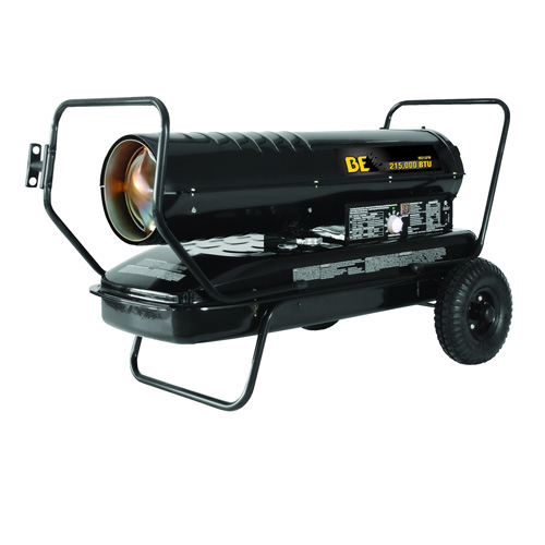BE Pressure HK215FW Forced Air Kerosene Diesel Heater 215000 BTU