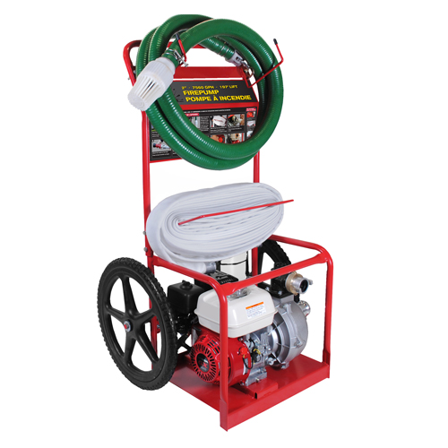 BE Pressure HPFC-2065HR 2inch Fire Fighting Cart