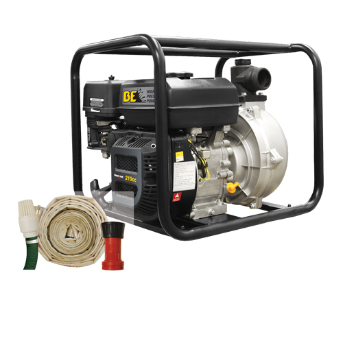 BE Pressure HPFK2070R 2inch Fire Fighting Pump Kit