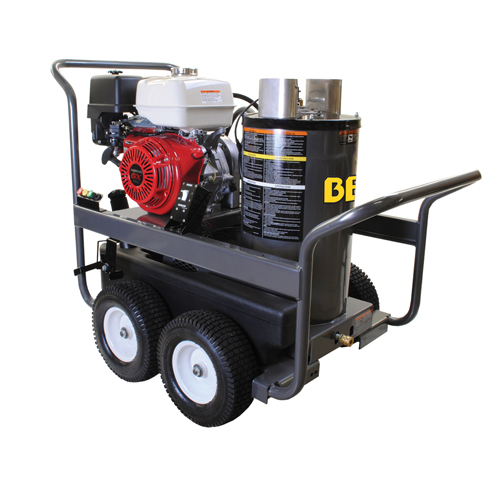 BE Pressure HW3513HAD Hot Water Pressure Washer Honda Gas Engine 3500psi 4gpm