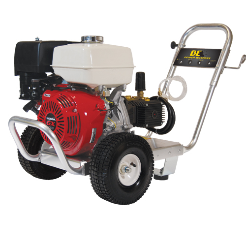 BE Pressure PE-4013HWPACOMZ Aluminum Frame Cold Water Pressure Washer Honda Engine 4000psi 4gpm