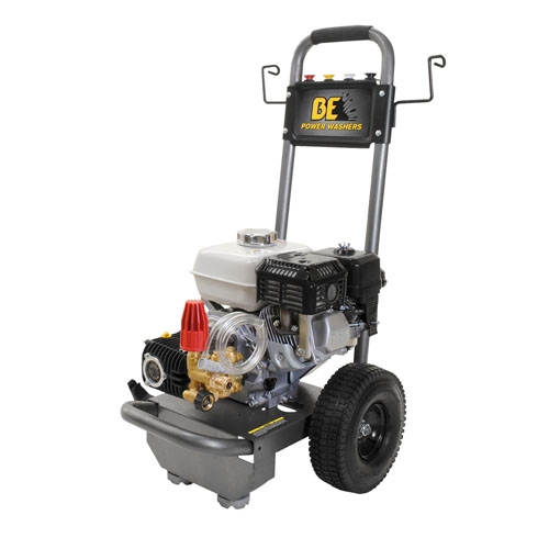 BE Pressure Supply B2565HA B-Frame Pressure Washer 2500psi 3gpm Honda gas engine
